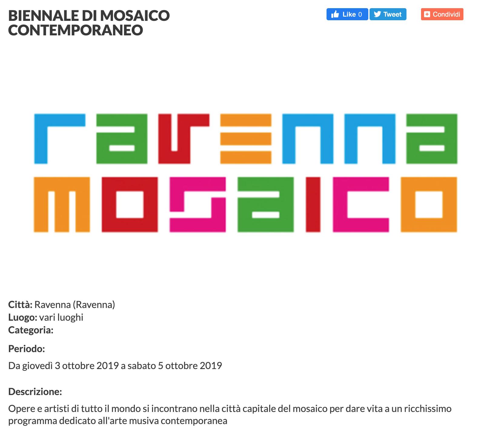 I cartoni per i mosaici di Dora Markus su Vivi Cesena | Pallavicini22 spazio espositivo Ravenna