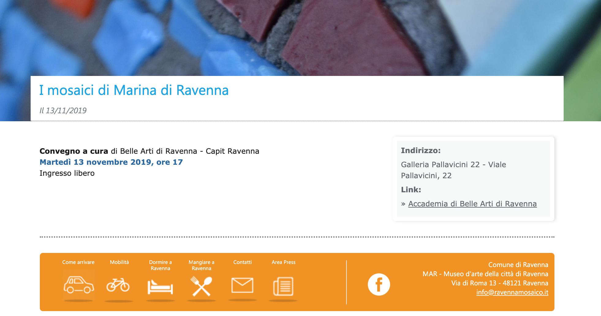 I cartoni per i mosaici di Dora Markus su RavennaMosaico | Pallavicini22 spazio espositivo Ravenna