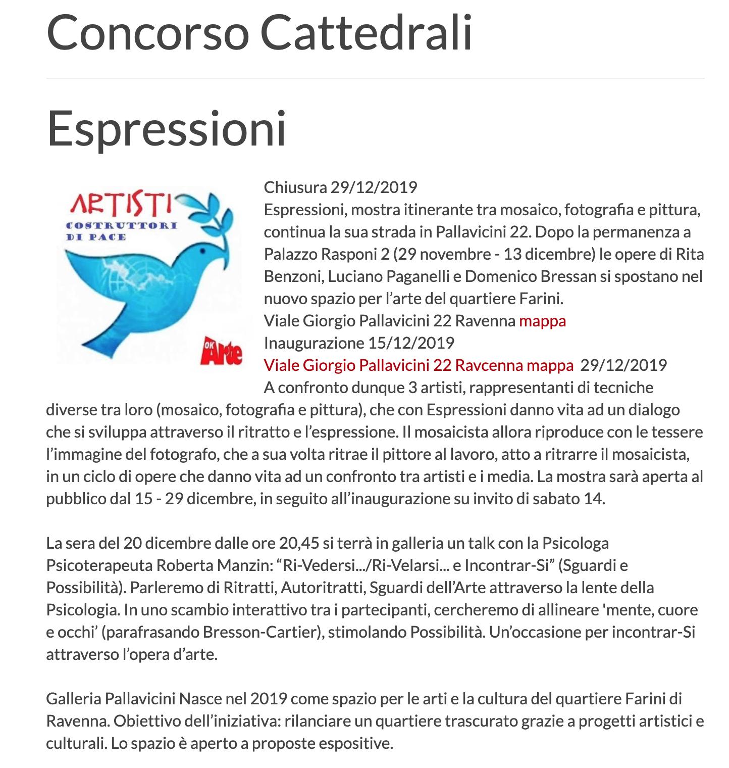 Espressioni su OK Arte | Pallavicini22 spazio espositivo Ravenna