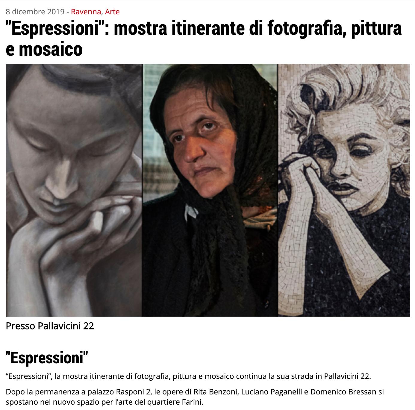 Espressioni su Ravenna24Ore | Pallavicini22 spazio espositivo Ravenna