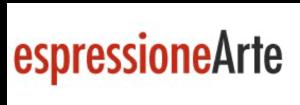 Logo espressioneArte | Pallavicini22 spazio espositivo Ravenna
