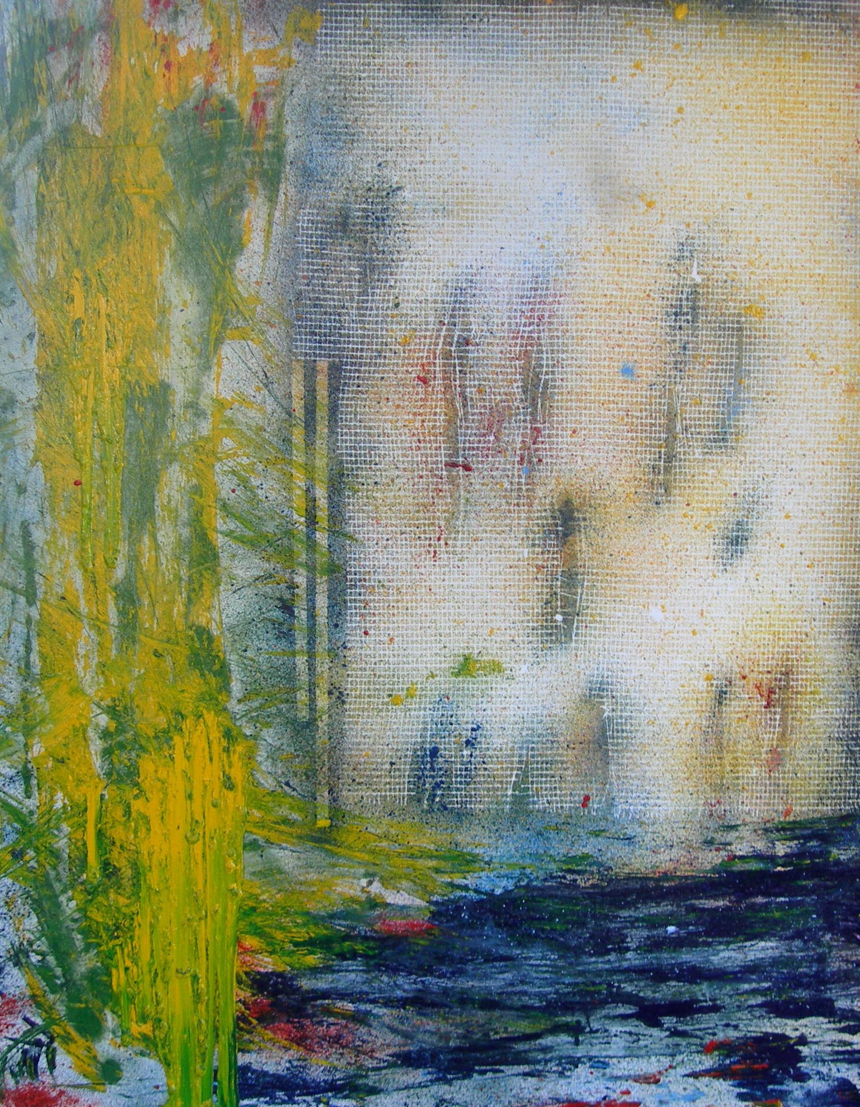 6) Senza titolo, cm.100x80, olio su tela, 2020