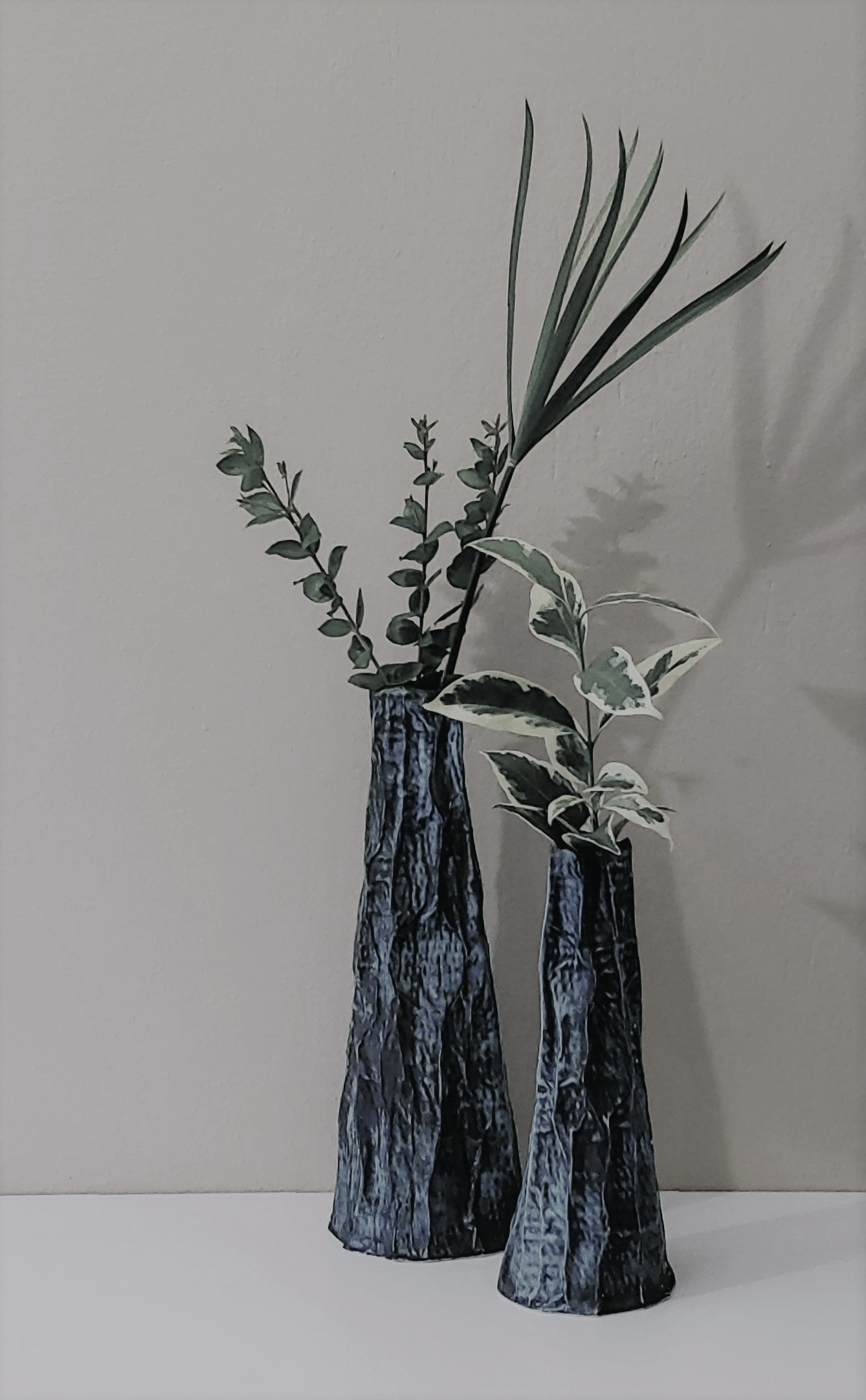 Roberta Barlati Highgreen 37+lowgreen 28earthenware2020