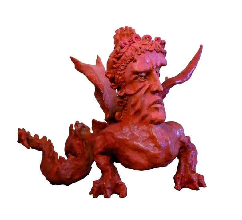 ZANONIGerione terracotta patinata